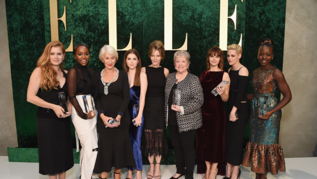 Amy Adams, Lupita Nyong'o, Kristen Stewart and other honorees shine at Elle Women in Hollywood Awards