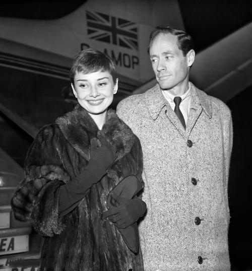Audrey Hepburn in a quintessential classic mink