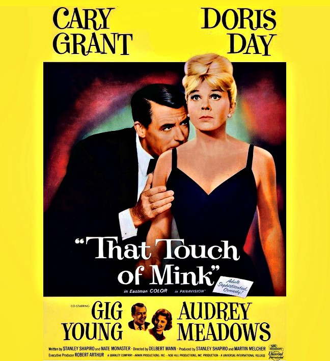 Cary Grant, Doris Day, That Touch of Mink. poster