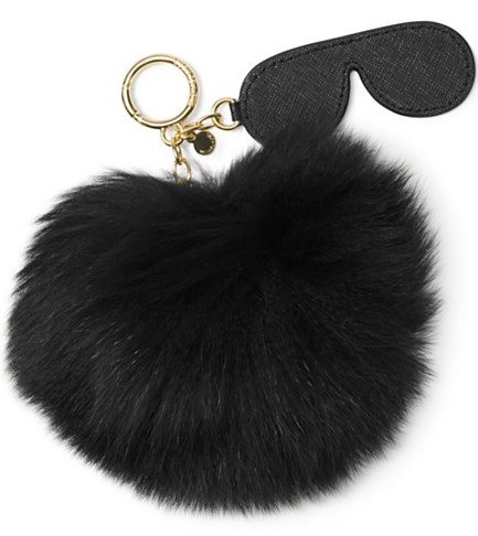 Michael Kors fuzzy shades key fob