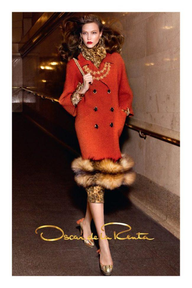 Oscar De La Renta Fall Winter 2011 Ad Campaign