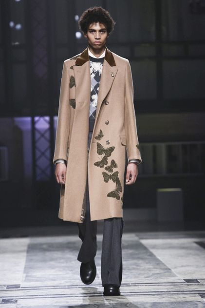 Alexander McQueen Menswear Collection