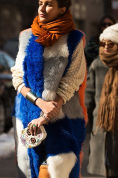 Bold and bright, statement furs always stand out above the rest