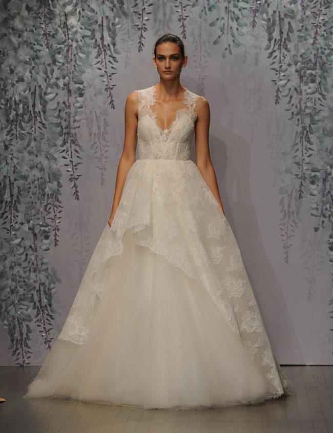 Monique Lhuillier wedding dress Fall 2016