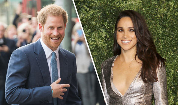 Prince Harry and Meghan Markle make a very stunning couple