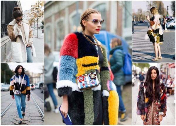 Statement furs in action from the winter 2016 seasaon