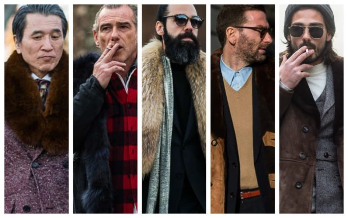 Fur fashion for men is ageless