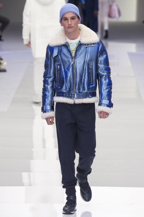 Versace Menswear Fall 2016