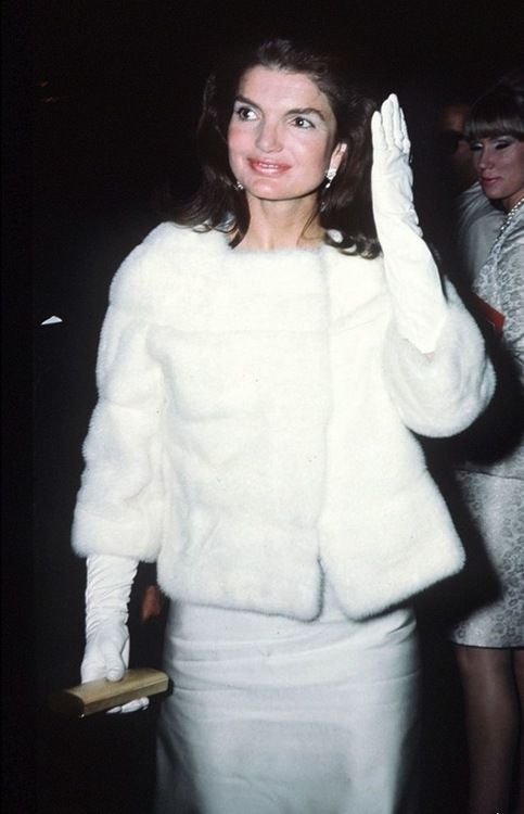 Jacqueline Kennedy was a First Lady that loved to wear her fur fashion