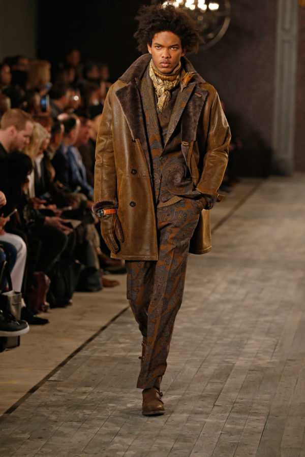 Joseph Abboud Fall 2016 cold weather fashion