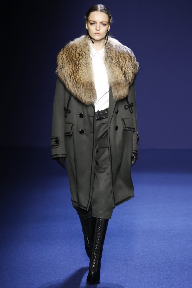 Andrew GN fall 2016 fur collars