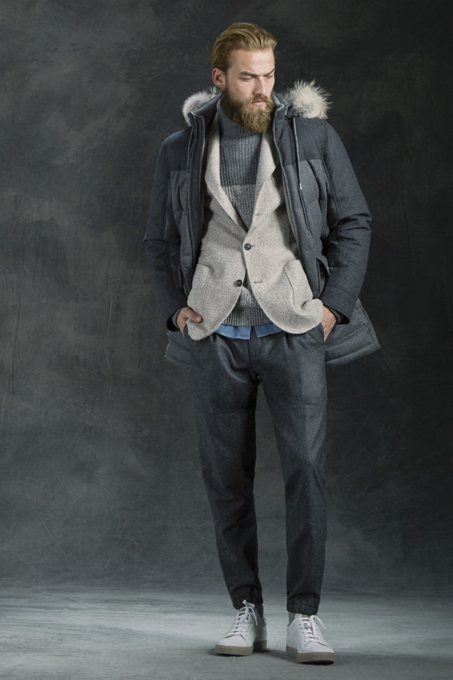 Brunello Cucinelli Fall 2016 parka
