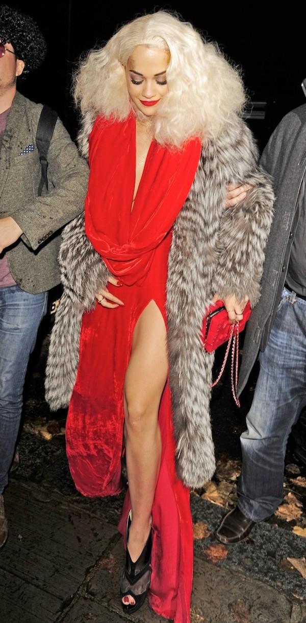 Rith Ora glamourous style