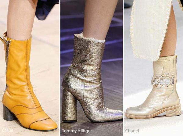 Chloe, Tommy Hilfiger and Chanel Fall 2016 boots