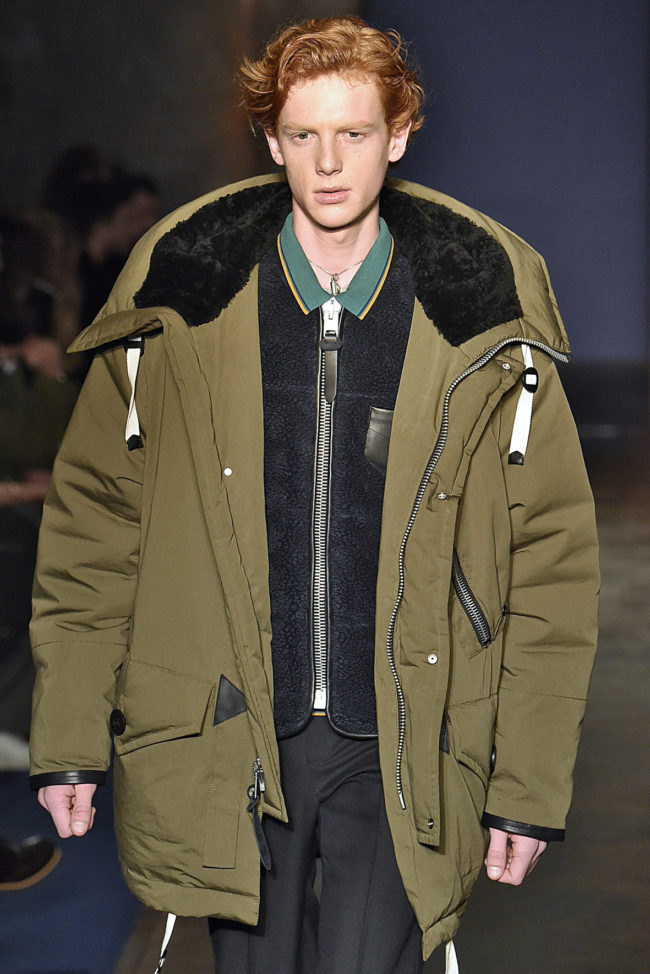 Coach Fall 2016 parka