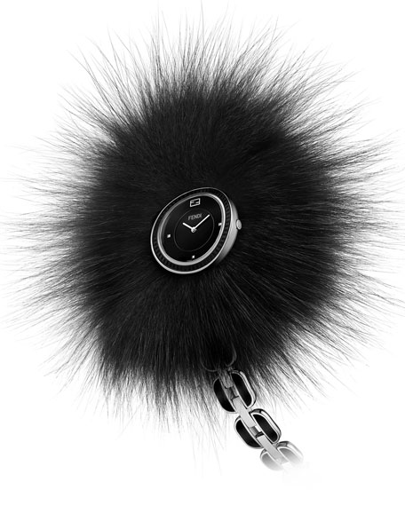 last minute gifts Fendi fur watch strap