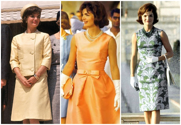 From concept to execution, Jackie Kennedy wore many many timeless Oleg Cassini designs for every occasion.