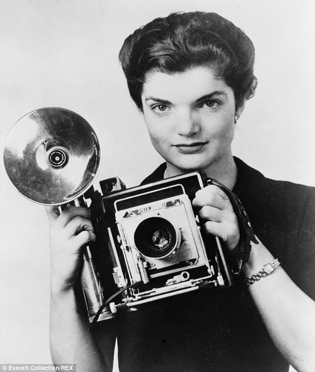 Jackie became the Inquiring Camera Girl of the Washington Time-Herald newspaper