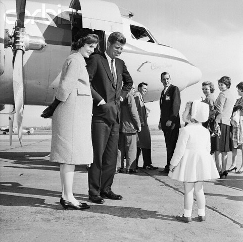 Jacqueline Kennedy's pregnancy style never strayed very far from her polished and refined image.