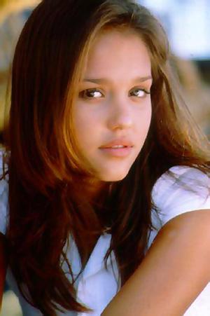 young Jessica Alba