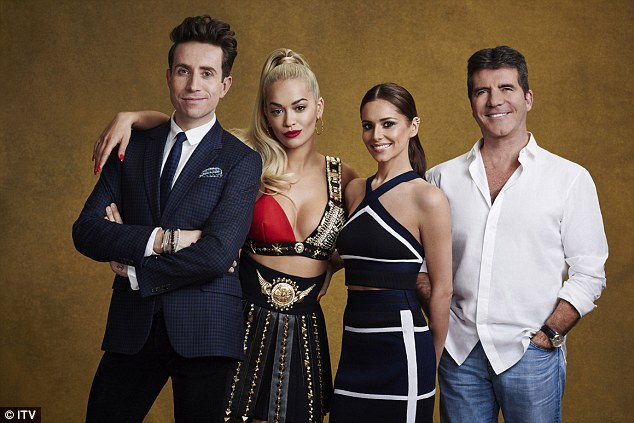 Rita Ora on X Factor
