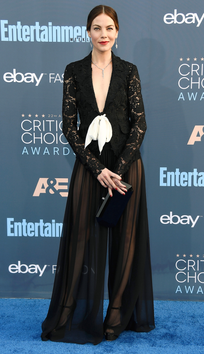 Michelle Monaghan attends The 22nd Annual Critics' Choice Awards