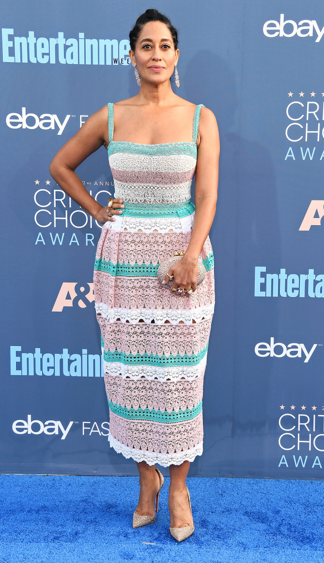 Actress Tracee Ellis Ross attends The 22nd Annual Critics' Choice Awards