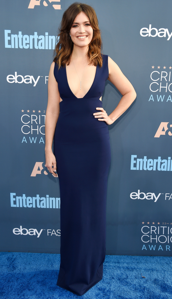 Actress Mandy Moore attends The 22nd Annual Critics' Choice Awards