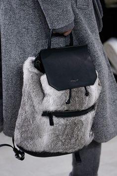 Michael Kors fur gifts fur backpack