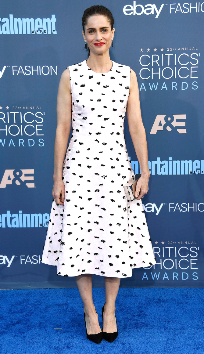 Actress Amanda Peet attends The 22nd Annual Critics' Choice Awards