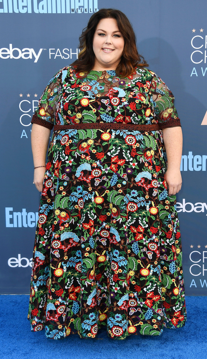 Actress Chrissy Metz attends The 22nd Annual Critics' Choice Awards