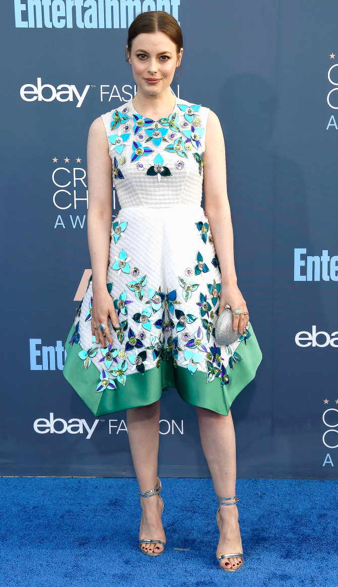 Actress Gillian Jacobs attends The 22nd Annual Critics' Choice Awards