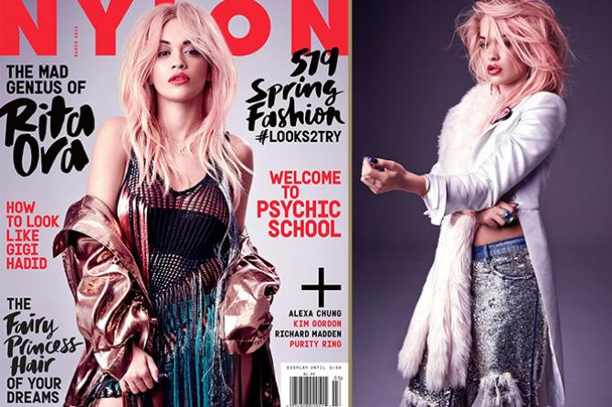 NYLON Magazine's March 2015 Cover Girl is Rita Ora!