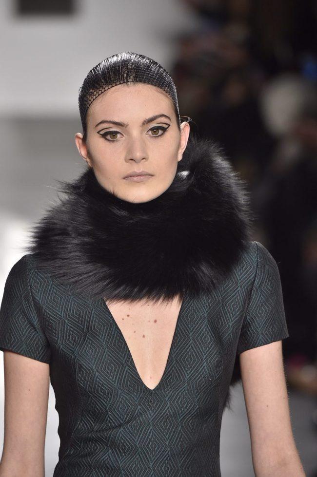 Pamella Roland fur scarf fur gifts