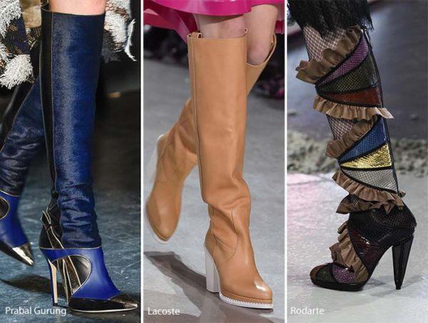 Prabal Gurung, Lacoste, Rodarte winter boots