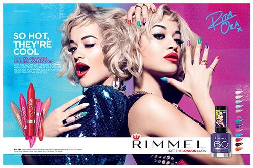 Rita for Rimmel London