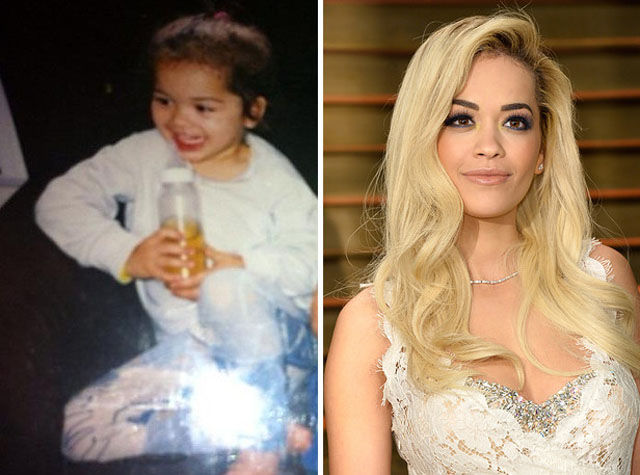 Rita Ora as a child