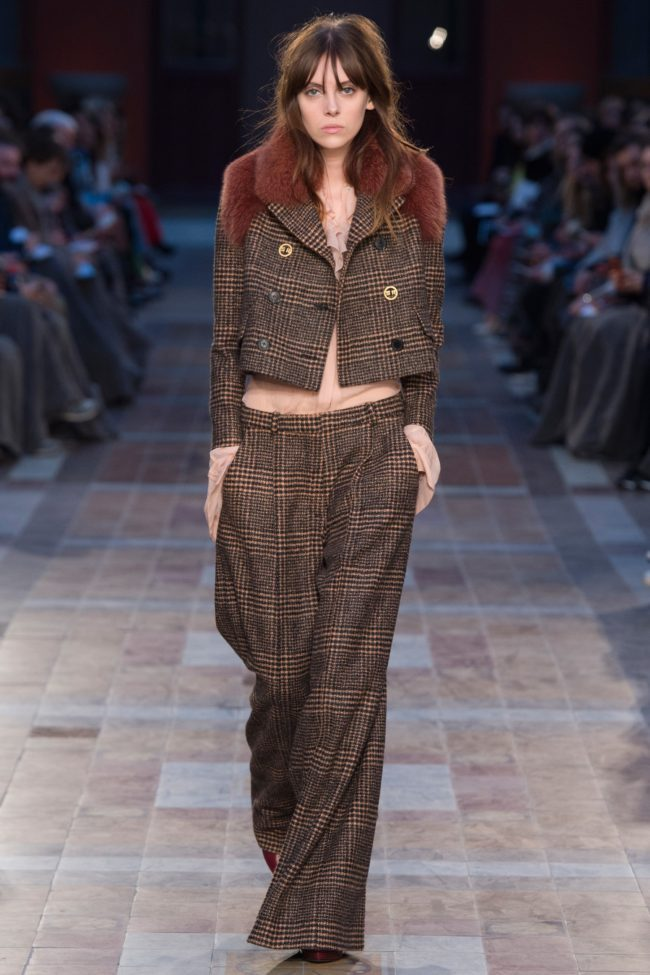 Sonia Rykiel Fall 2016 fur fashion