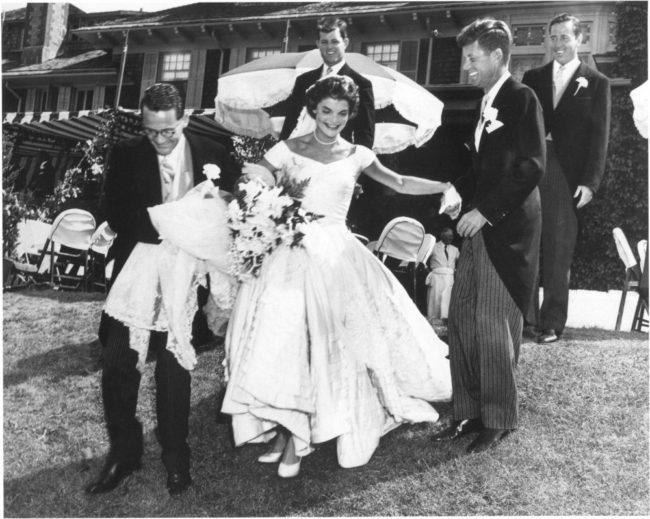 The Kennedy's wedding