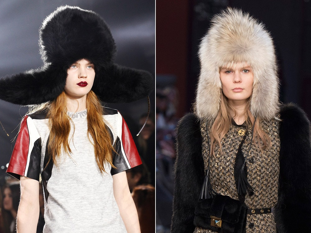 Louis Vuitton, Sonia Rykiel fur hats fur gifts