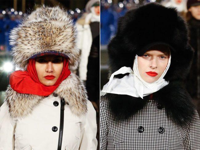 Moncler fur hats fur gifts