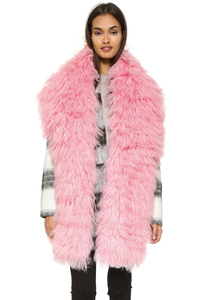 Charlotte Simone fur scarf fur gifts
