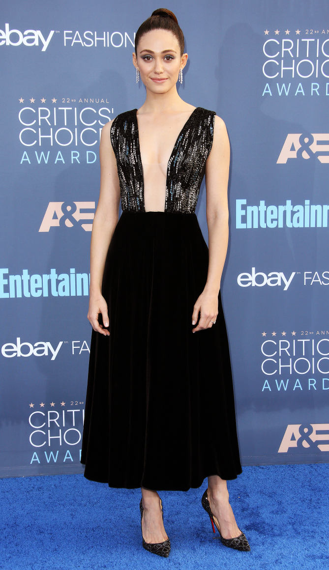 Emmy Rossum 22nd Annual Critics' Choice Awards