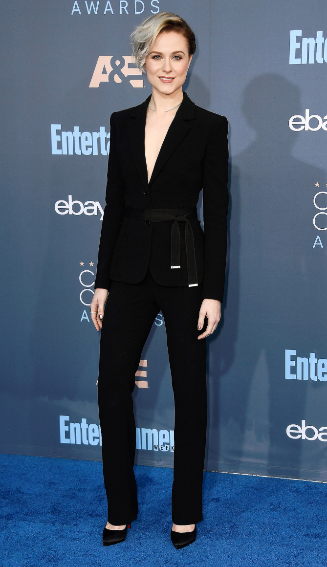 Actress Evan Rachel Wood attends The 22nd Annual Critics' Choice Awards