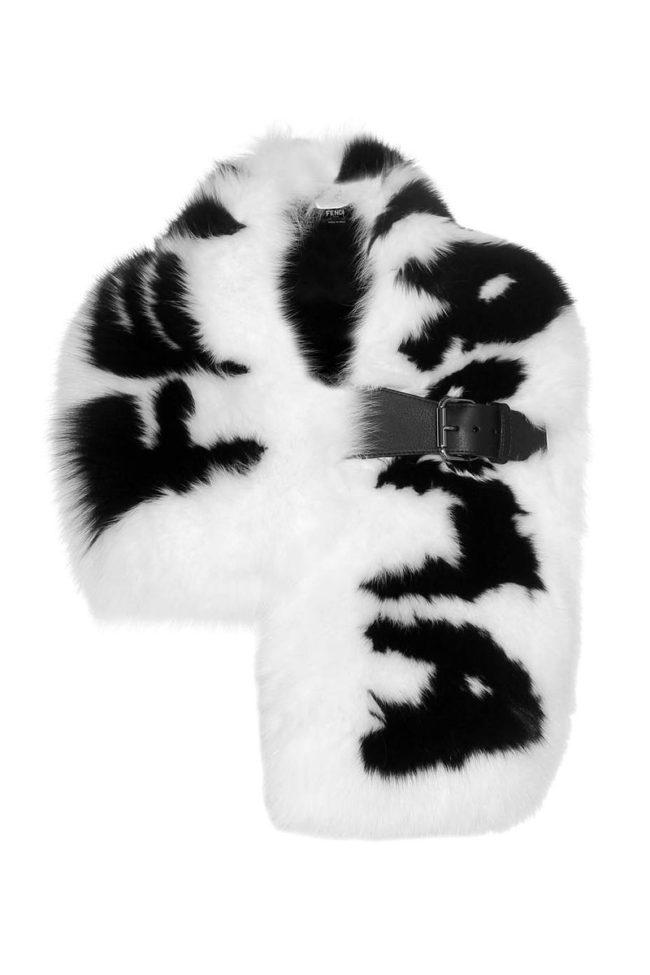 Fendi fur scarf fur gifts