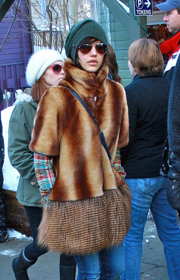 Jessica Alba at Sundance Film Festival