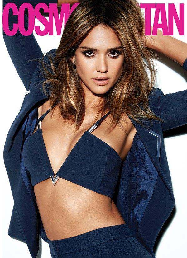 Jessica Alba Cosmopolitan cover