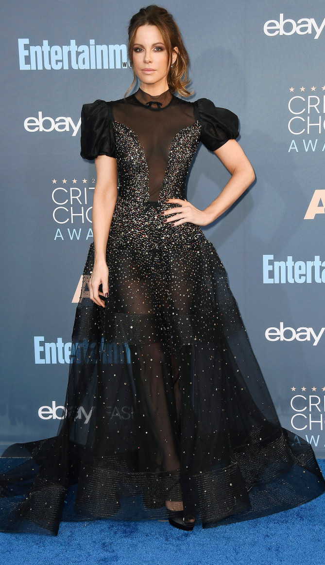 Kate Beckinsale attends The 22nd Annual Critics' Choice Awards