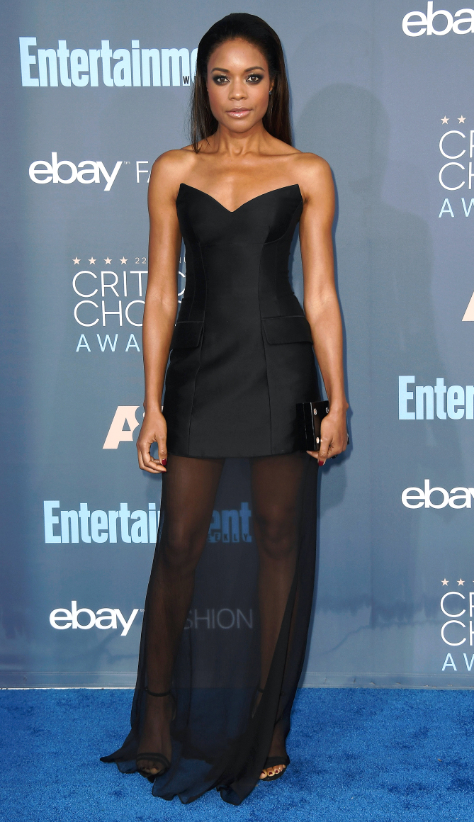 Actress Naomie Harris attends The 22nd Annual Critics' Choice Awards