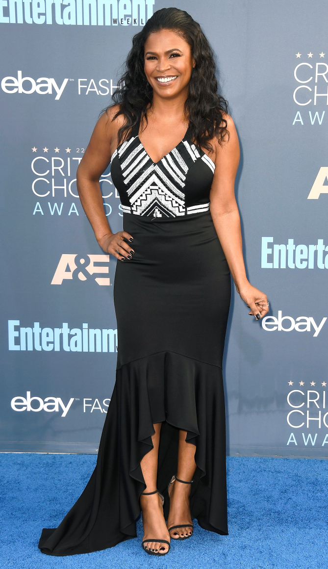 Actress Nia Long attends The 22nd Annual Critics' Choice Awards